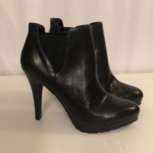 Jessica Simpson Leather Heeled Boots Size 6.5